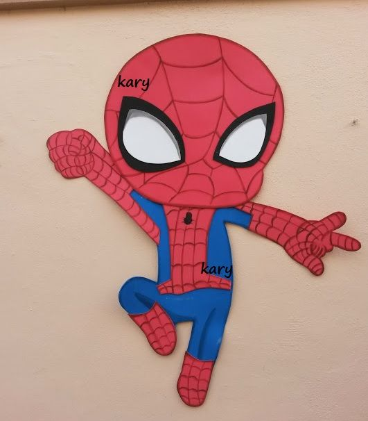 Hombre araa Spider man party birthday fiesta infantil festa