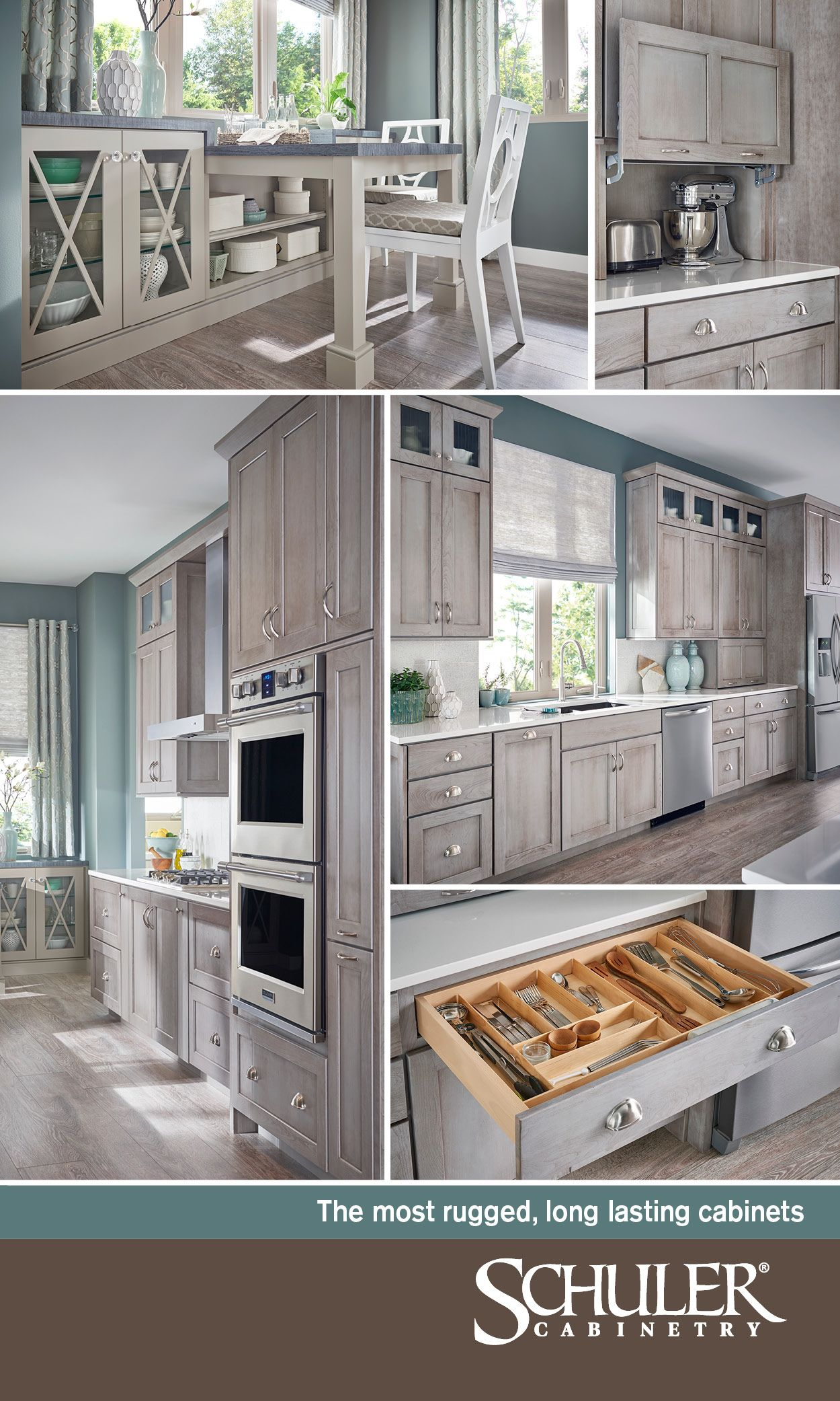 Schuler Cabinetry Offers The Most Rugged Long Lasting Cabinets Thinktough Strongestmaterials Innovati Lowes Kitchen Cabinets Kitchen Cabinets Cabinetry