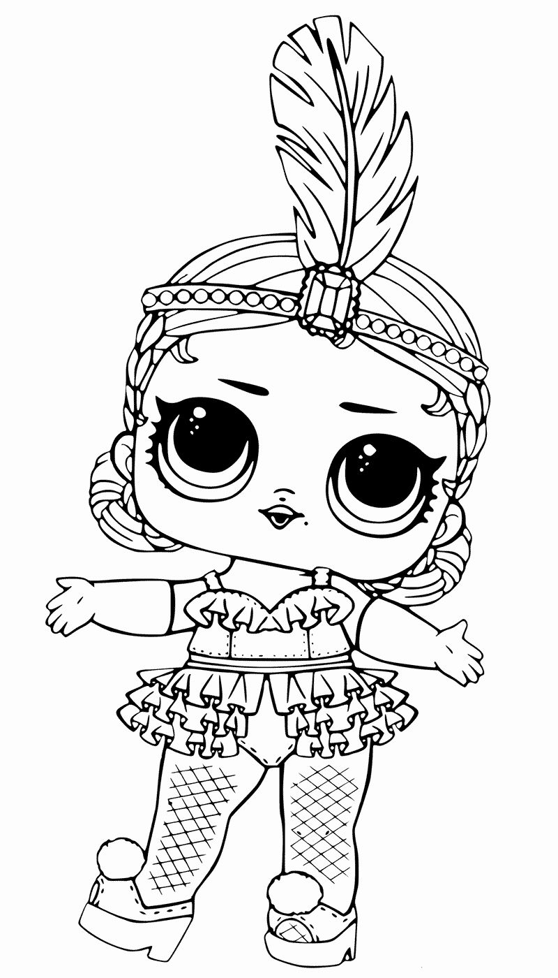 Lol Dolls Coloring Page Lovely Lol Dolls Coloring Pages Best