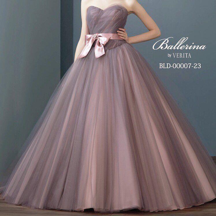 カラードレス ・ ・ もともとはピンクリボンですた。 ビジュー