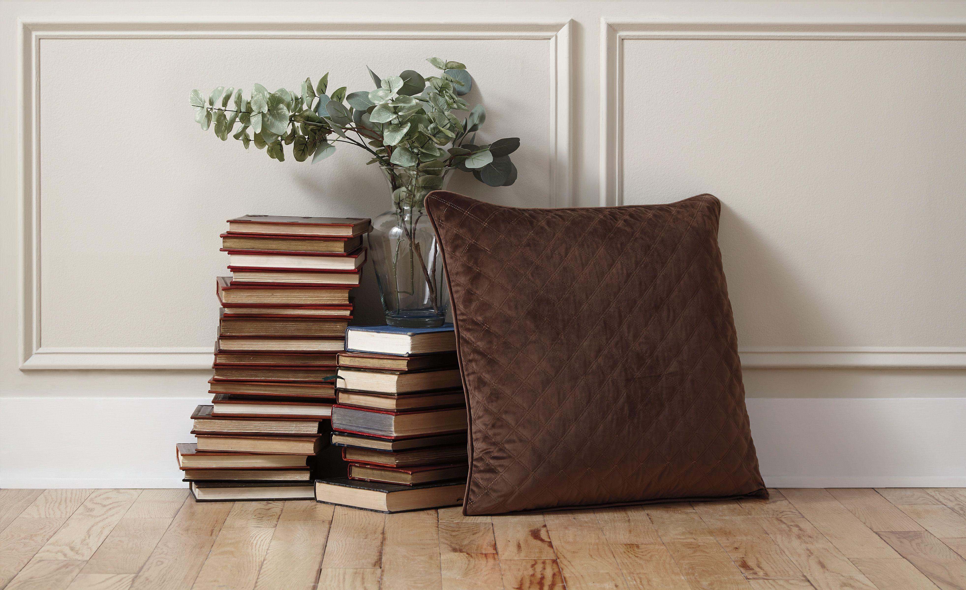 piercetown pillow in brown by ashley couette en losange coussins d eacute coratifs coussins