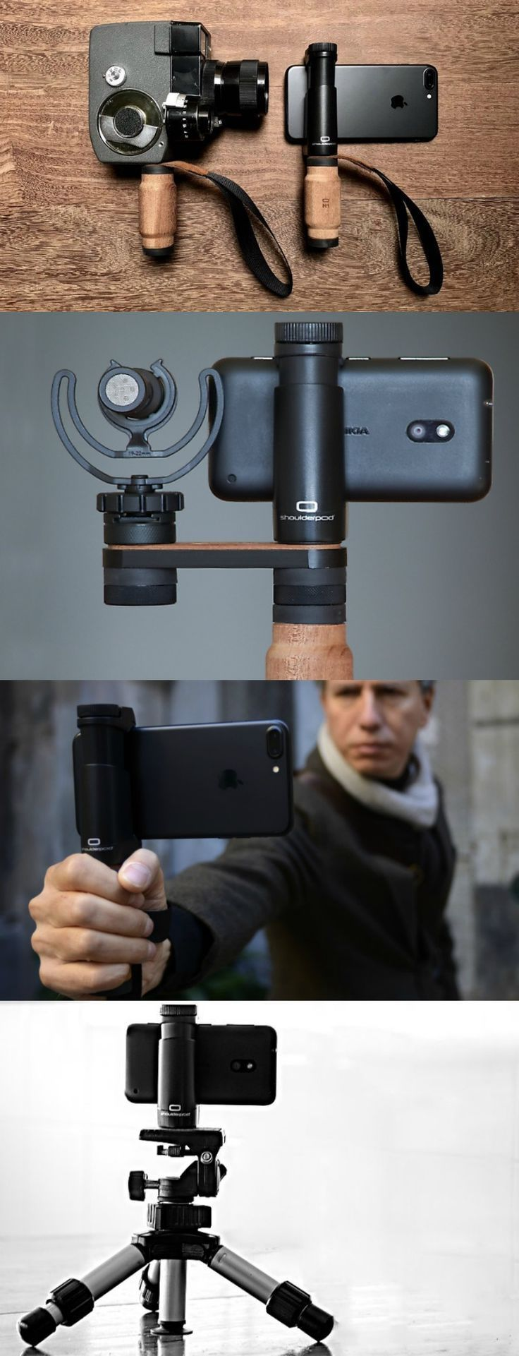 Enhance your smartphone photography with the shoulderpod