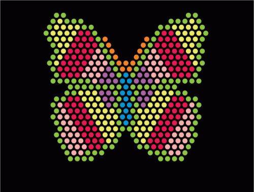 Light bright patterns to print glowpeg lite brite for Bright lights design center
