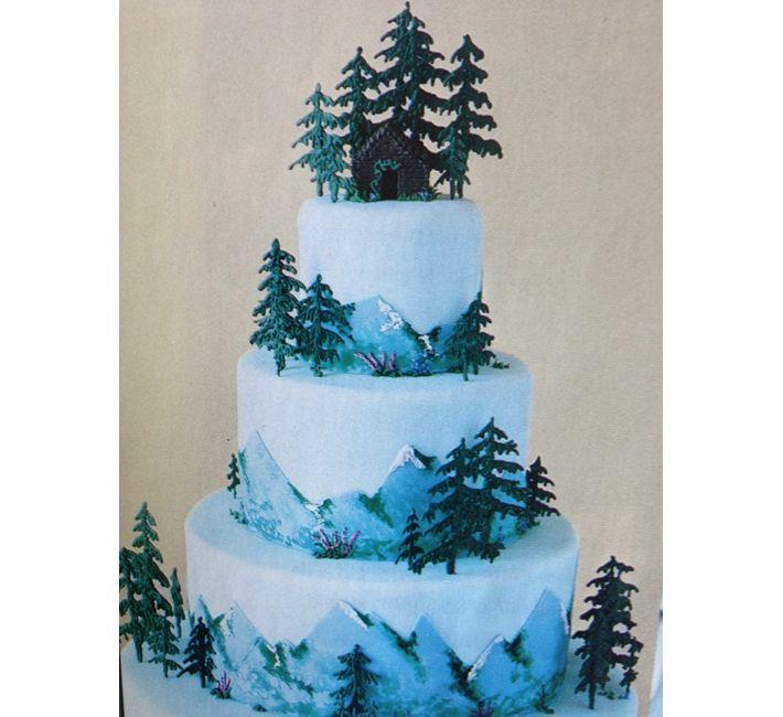 Weddings: A Rustic, Candlelit Wedding In Alaska