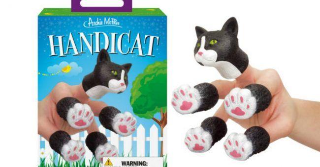 [TOPITRUC] Un déguisement de main chat