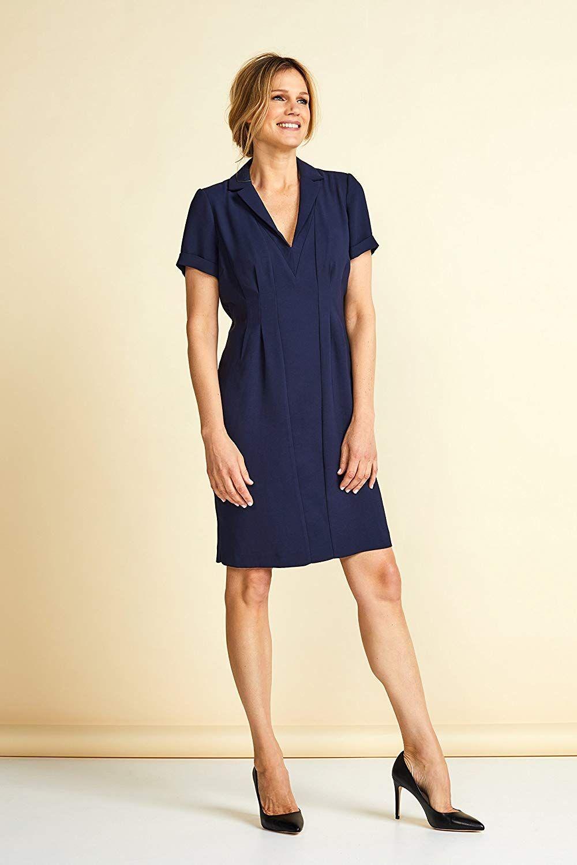 Kleid aus weichem Kreppstoff  Modestil, Kleider, Outfit