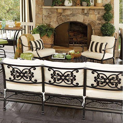 Terrific Amalfi Lounge Chair Ballard Designs Ncnpc Chair Design For Home Ncnpcorg