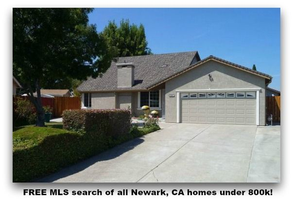 Free Mls Search Of All Newark Ca Homes Under 800k Outdoor
