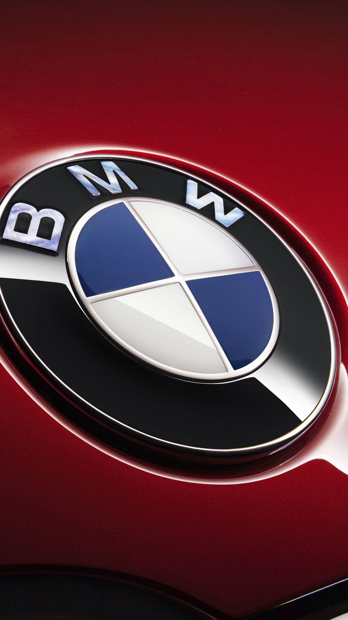 1440x2560 Red Bmw 7 Series Car Logo Wallpaper Bmw Logo Bmw 7 Series Bmw Iphone Wallpaper