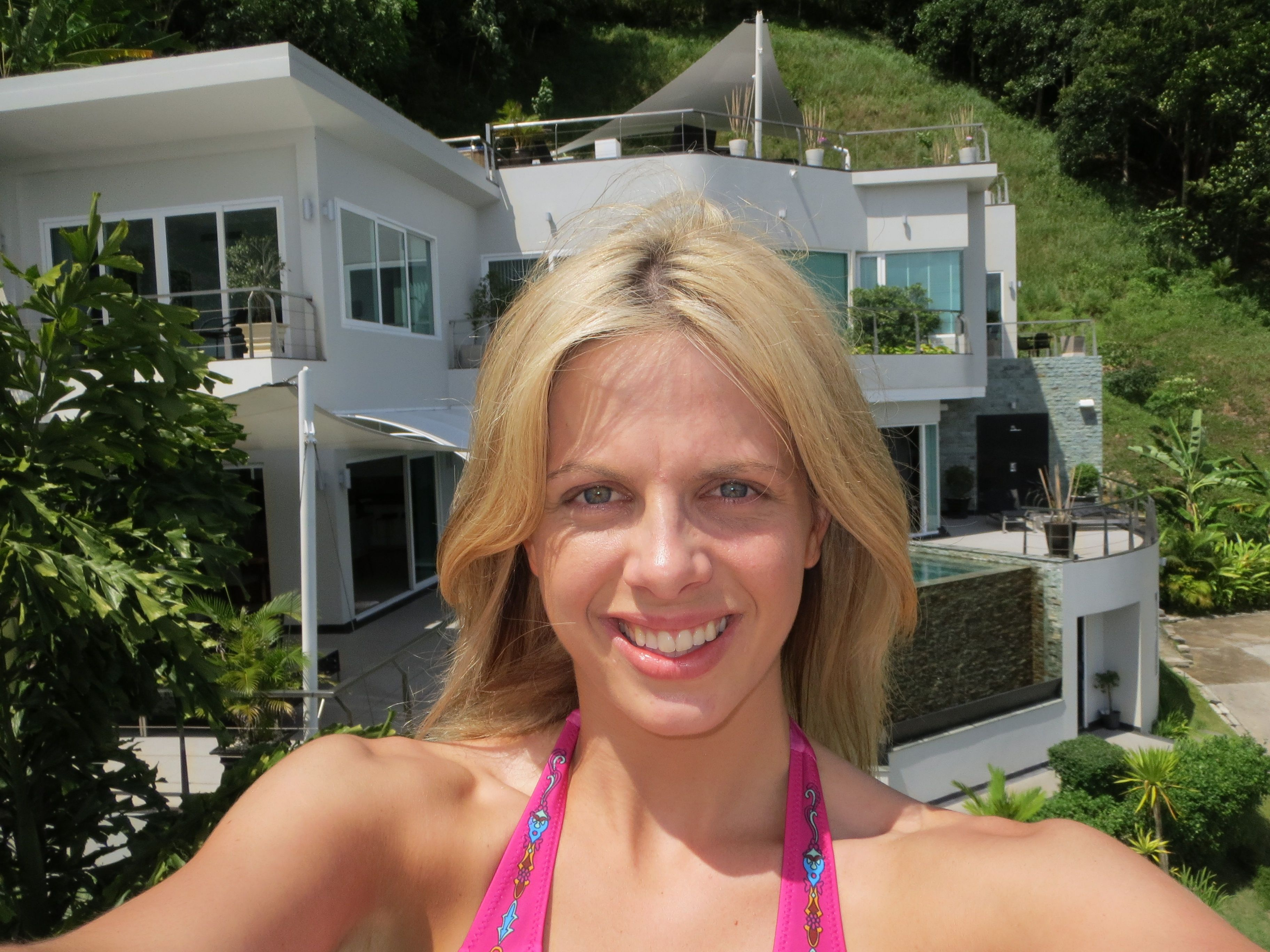 … don't mind the blond hair haha   A few of the crazy houses I lived in during 2013  www.oneadventureatatime.com