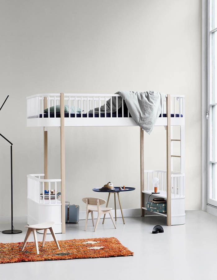 Lit mezzanine Oliver Furniture Lit en hauteur Pinterest Lits