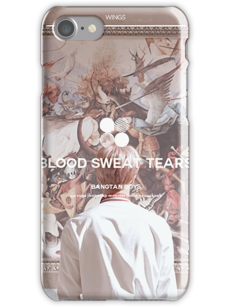 BTS Blood Sweat And Tears iphone case