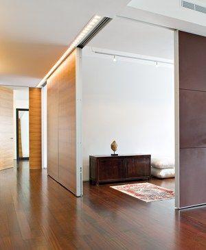 Discreet Charm Residentialarchitect Magazine Wooden Sliding Doors Sliding Wall Sliding Doors