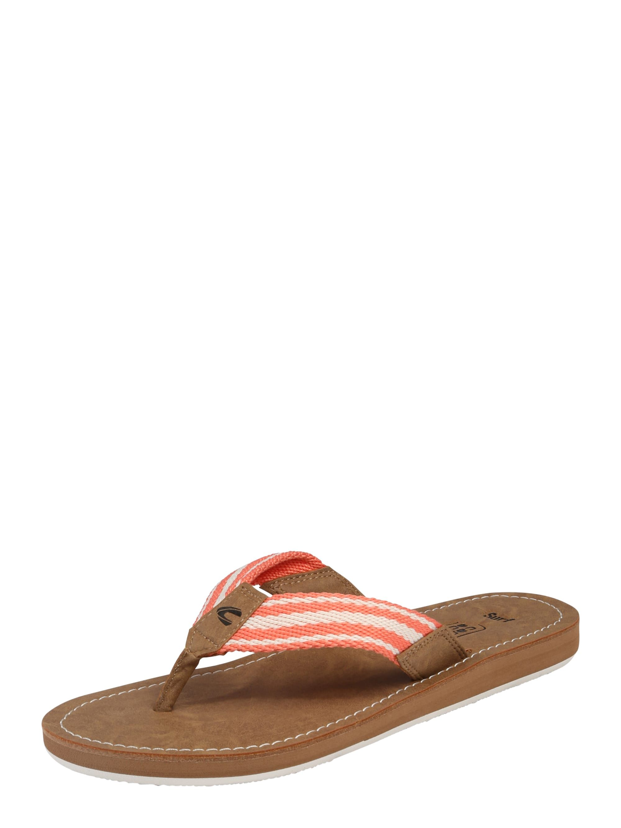 Active Damen 04046599653544 Surf Camel Zehentrennersandale Silber wB5xqY5r