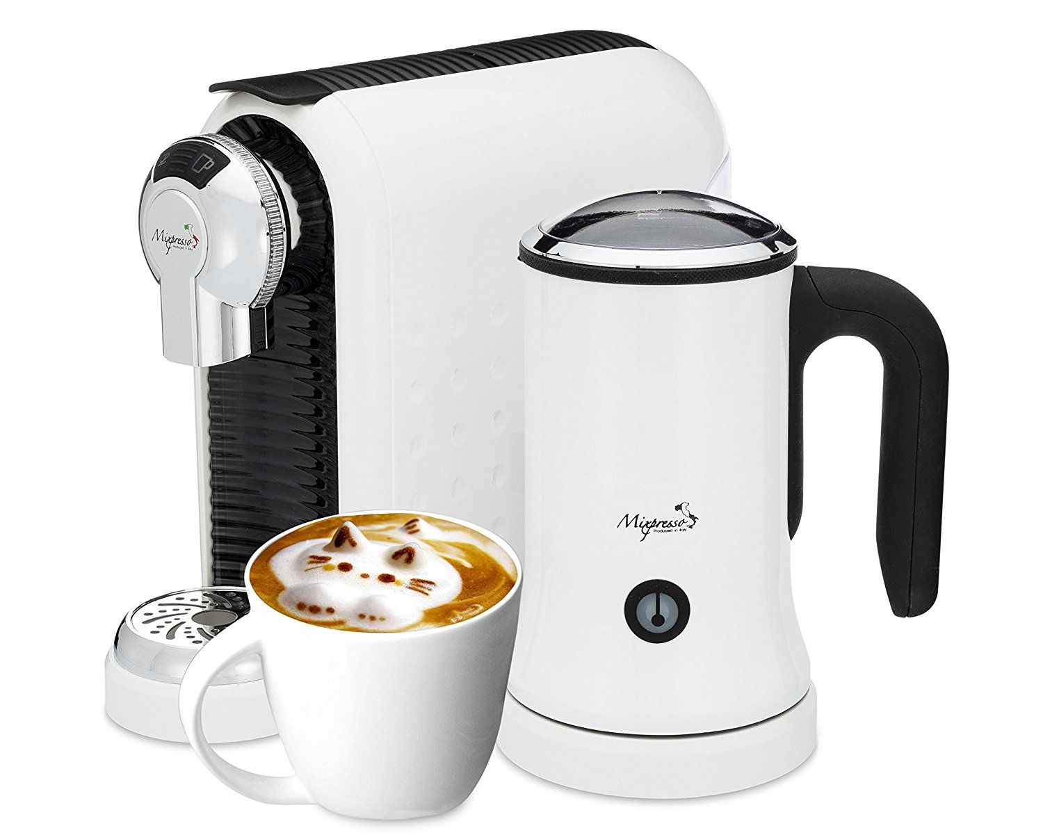 Latte Machine Nespresso Compatible Capsules By