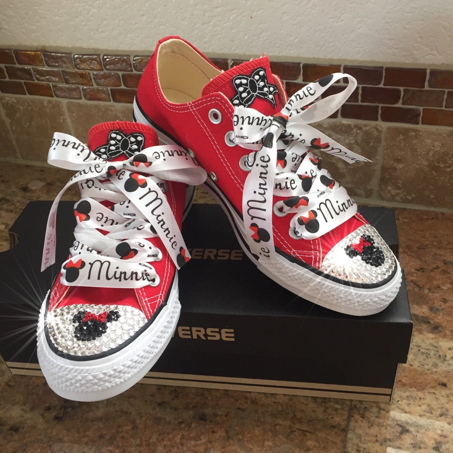 db0a83fc172758 Adult size mouse bling converse in 2019