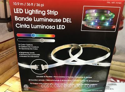 Costco Led Light Strip Captivating Dsi Led Lighting Strip Item 707405 At Costco  Rv Ideas For Upcoming Design Decoration