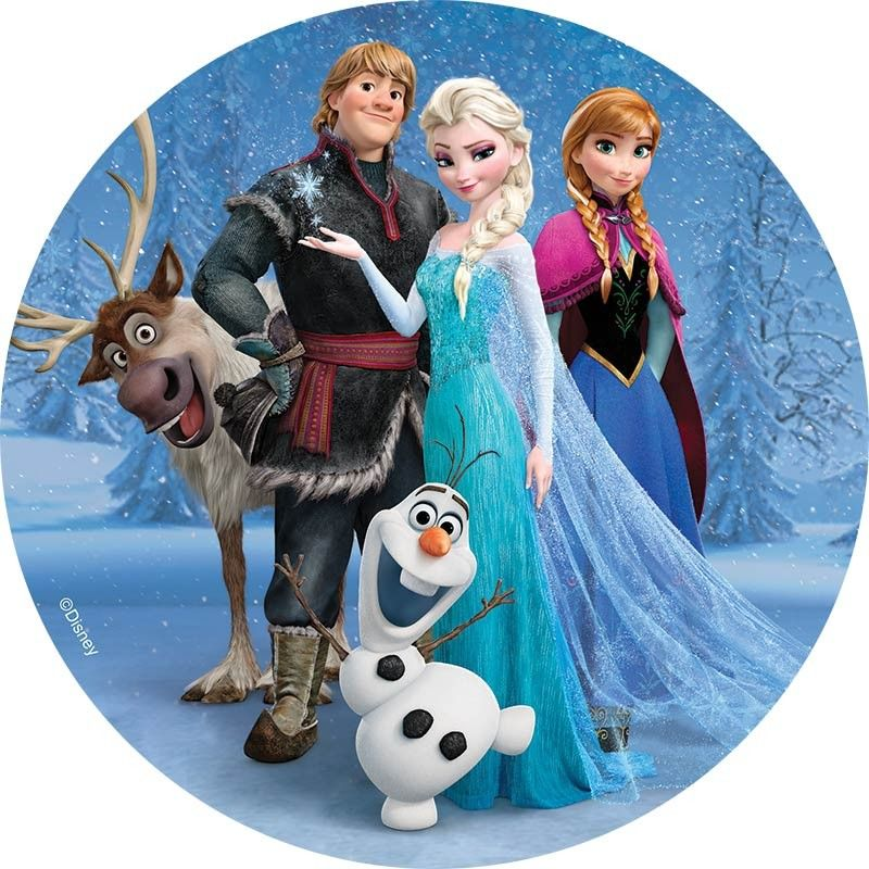 DISNEY FROZEN Anna Elsa Olaf Sven Fun Foiled Stickers