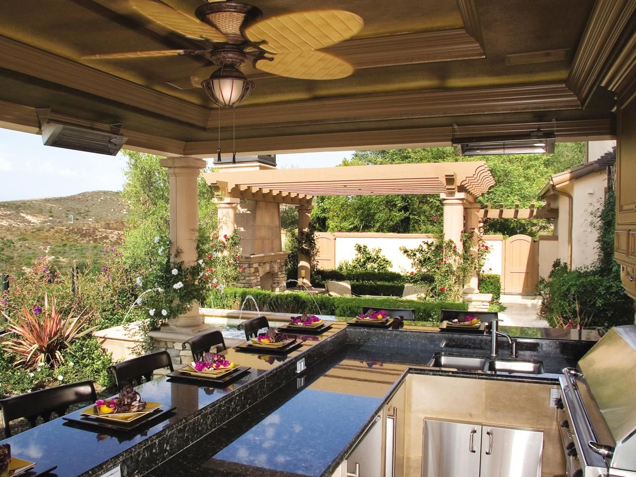 Pictures Of Outdoor Kitchen Design Ideas & Inspiration Amusing Outdoor Kitchens And Patios Designs Decorating Design
