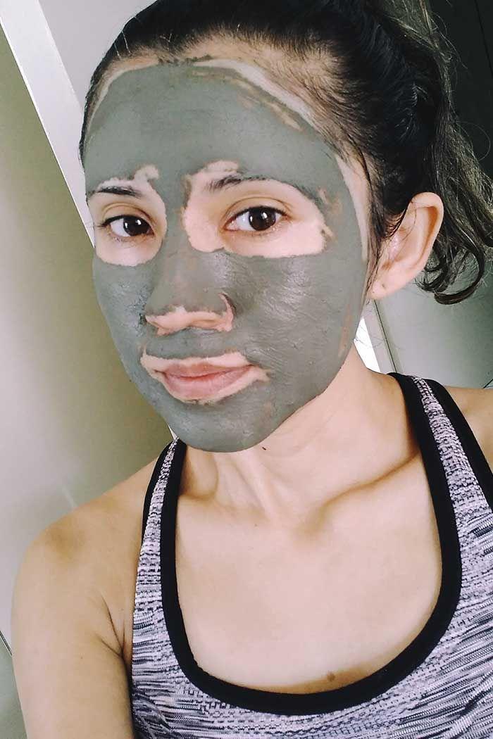 Mascara De Argila Verde Com Oleos Vegetais Slow Beauty Pinterest