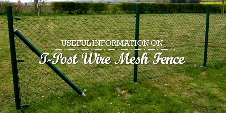 Useful Information On T Post Wire Mesh Fence Wire Mesh Fence