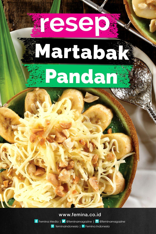 Resep Martabak Pandan Resep Masakan Indonesia Memasak Makanan