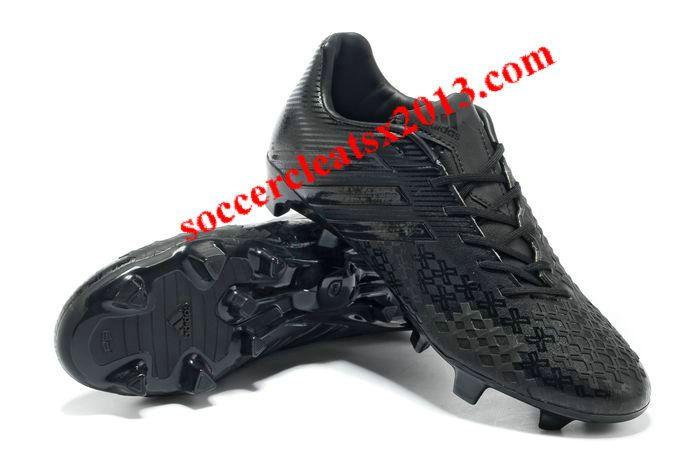 elección Gestionar motor  Adidas Predator 2013 LZ TRX FG Boots - All Black   Adidas soccer shoes,  Black sports shoes, Soccer boots