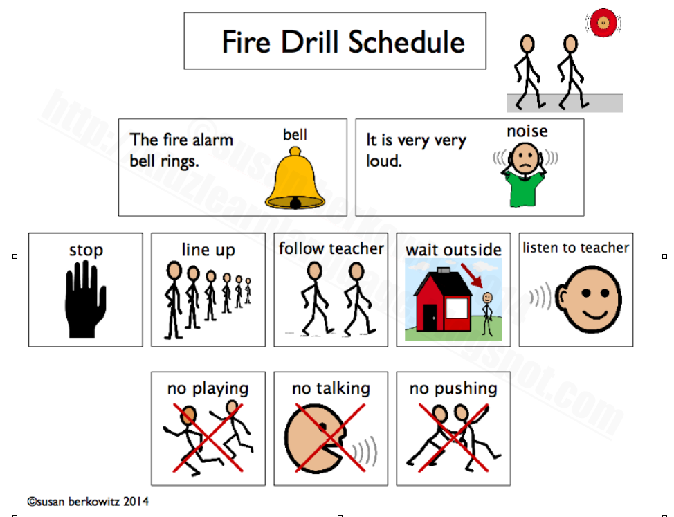 Help Kids With Autism Get Through Fire Drills During National Fire Prevention Safety Week
