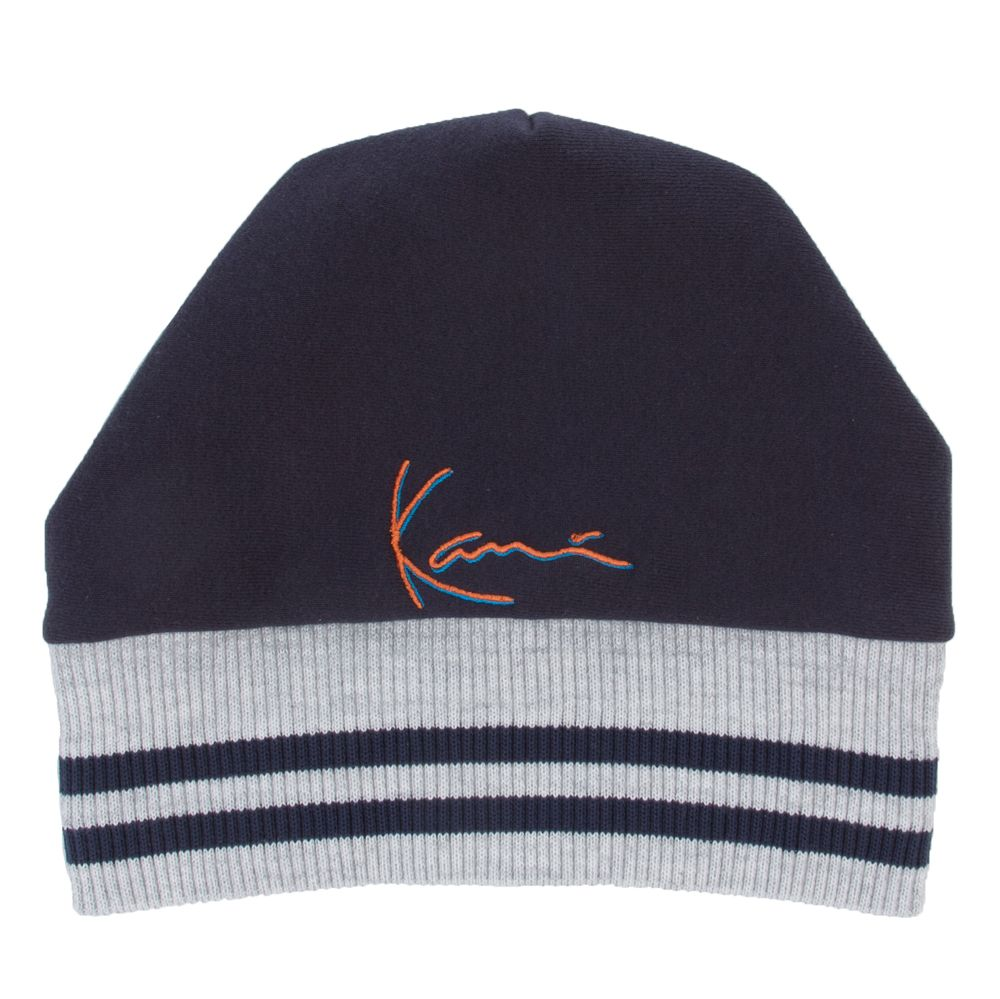 c5ac19b8eef26 Karl Kani Men s Karl Kani Signature Beanie Navy in 2019