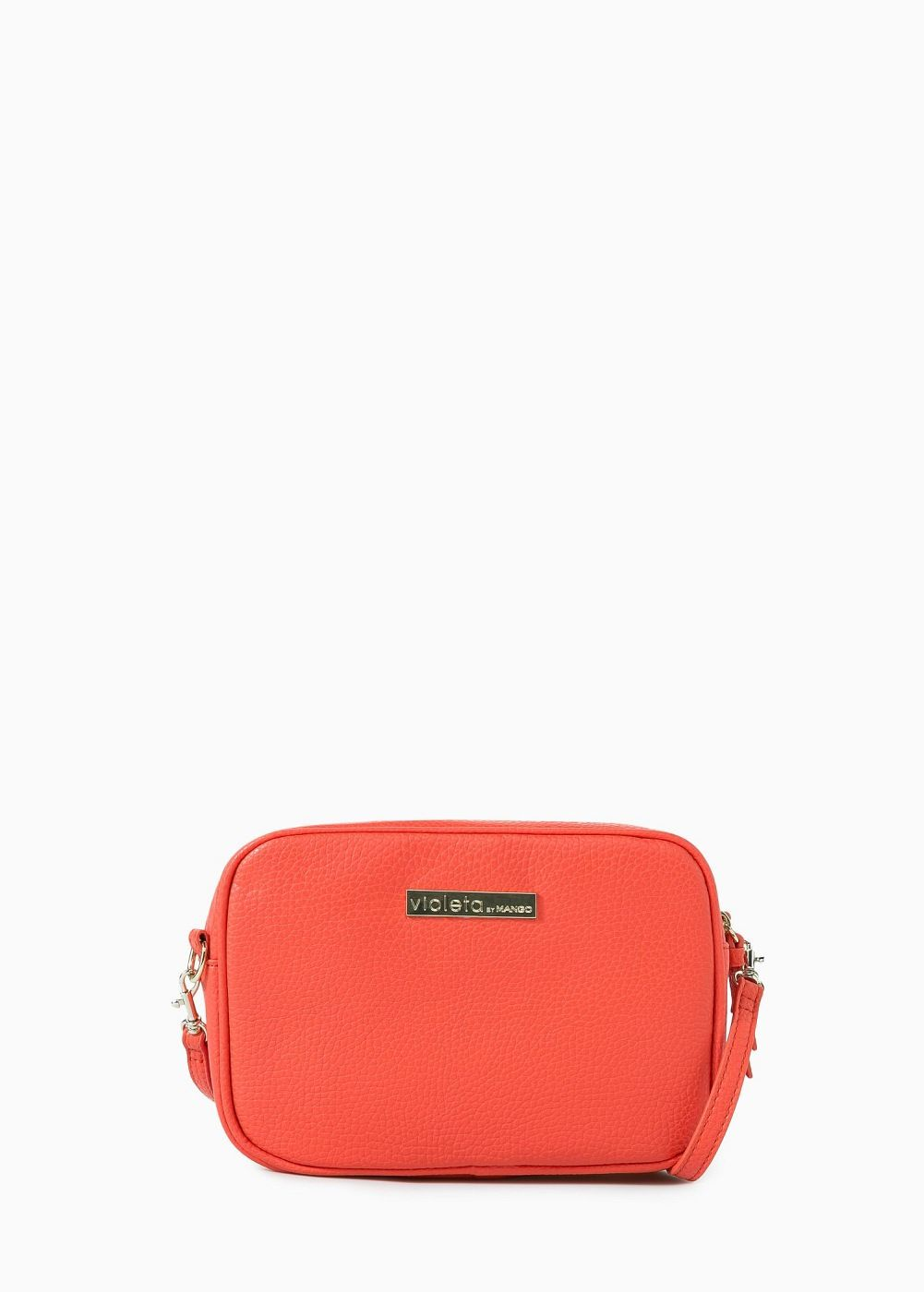 Cross-body pebbled bag