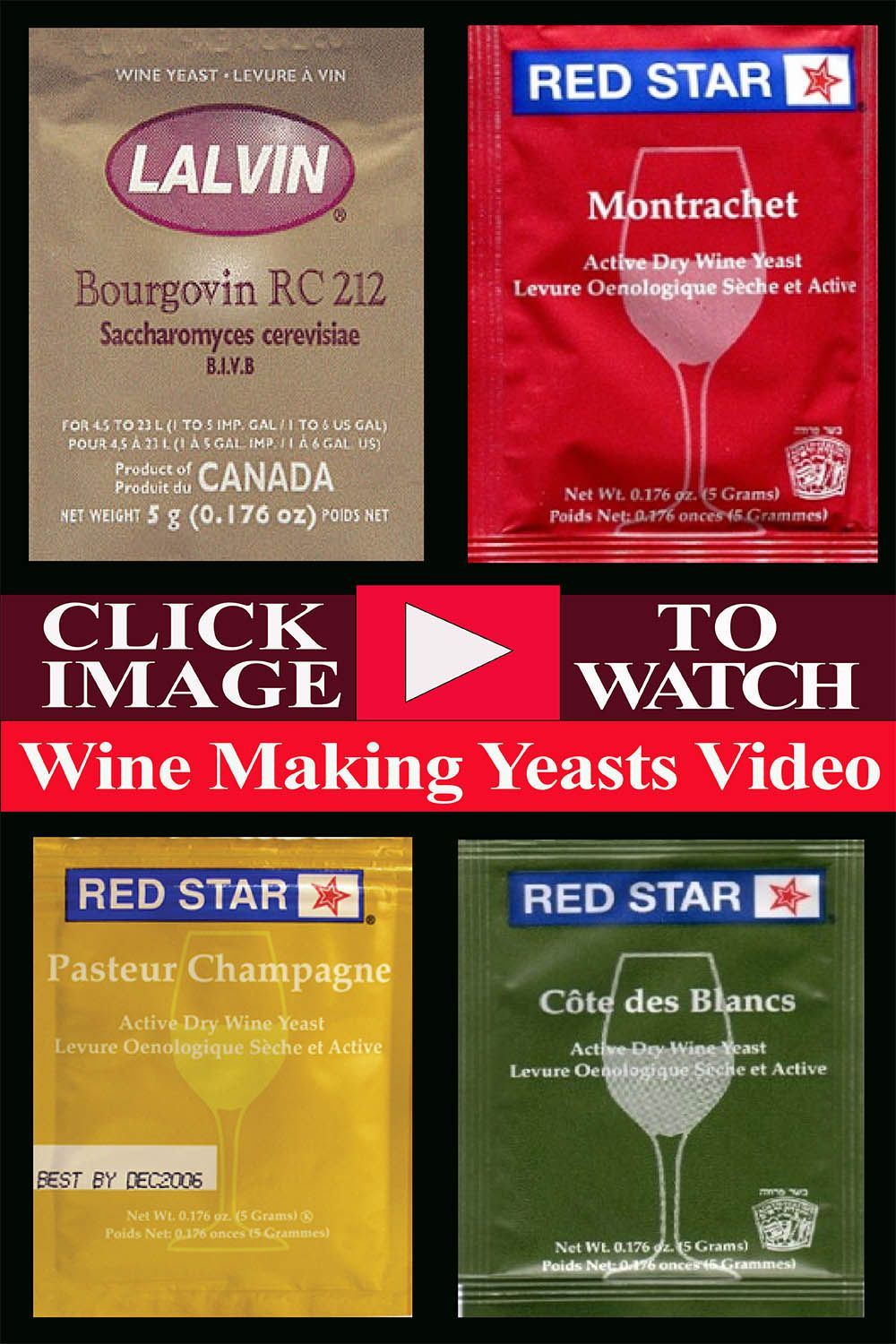 Winemaking Yeasts The Total Wine System Wine Yeast Wine Making Yeast Dry Wine