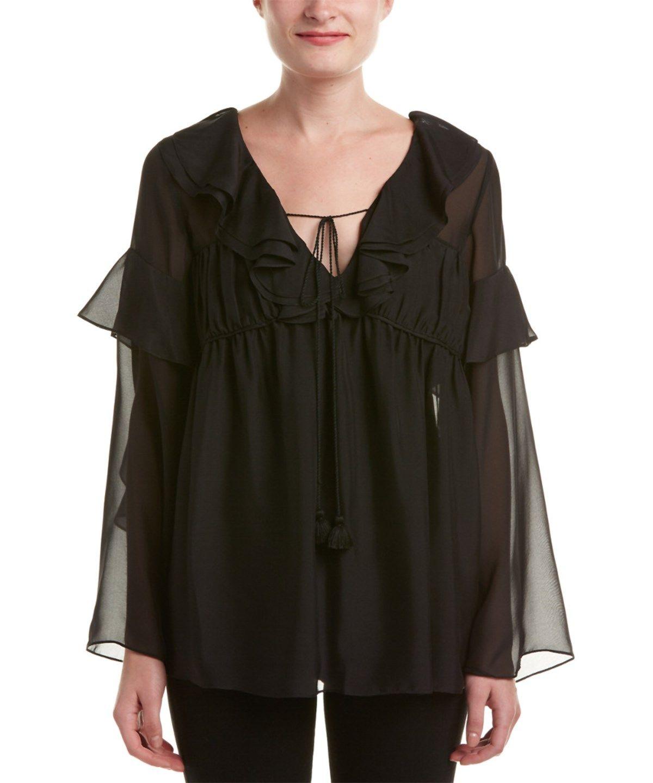 RACHEL ZOE Rachel Zoe Anna Silk Blouse'. #rachelzoe #cloth #blouses