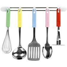 Set Of 5 Kitchen Utensils In Lovely Colors 42 00 At