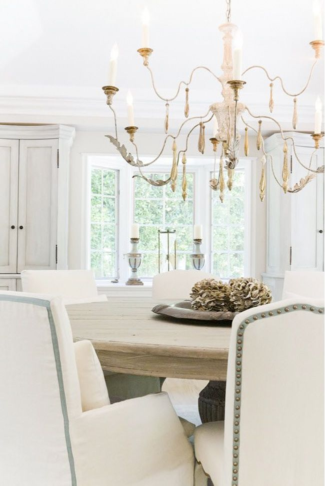 Pawleys Island Posh: Dining Room Progress + Inspiration Pictures Of Pretty  Dining Rooms!