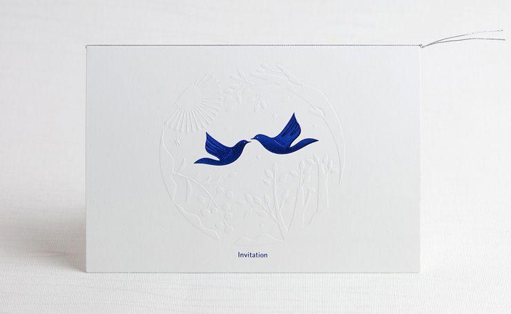 招待状 幸せの青い鳥ver2
