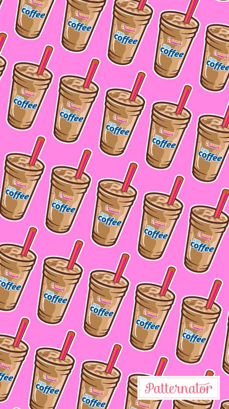 Iced Coffee Wallpaper Retro Wallpaper Iphone Pretty Wallpaper Iphone Retro Wallpaper