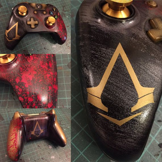 Assassin S Creed Inspired Xbox One By Nebulacustomgaming On Etsy