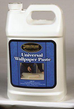 Roman Decorating Products Gal Univ Adhesive 209864 Wallpaper Paste & Adhesives - Amazon.com