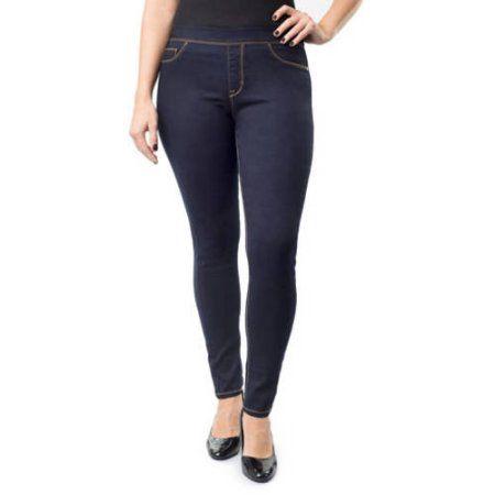 Jordache Women's Plus-Size Pull-On Jeggings