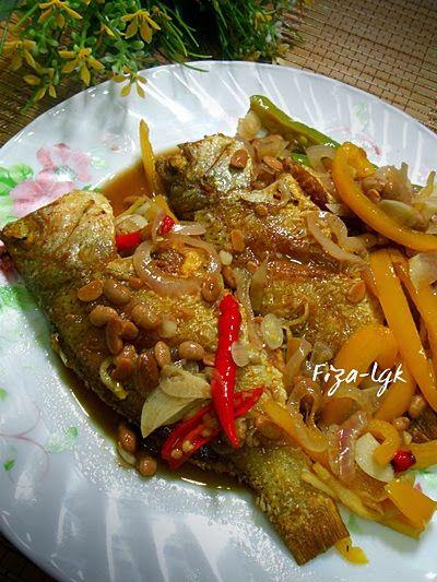 Fiza S Cooking Ikan Goreng Masak Taucu Resep Masakan Malaysia Resep Ikan Resep Makanan