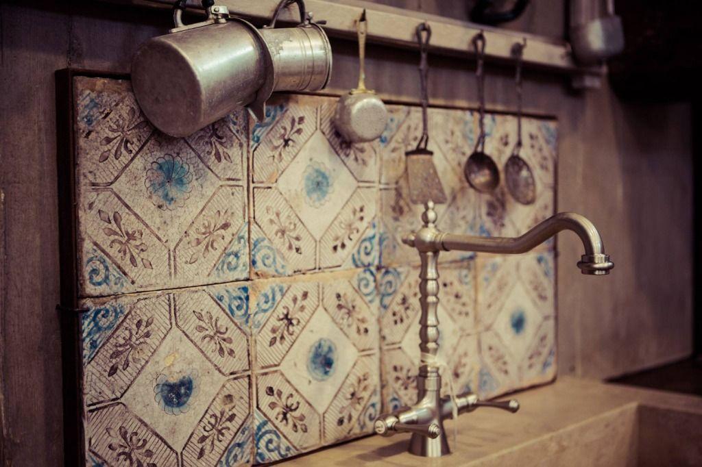 mattonelle-antiche-cucina -Collezionare antiche mattonelle per ...