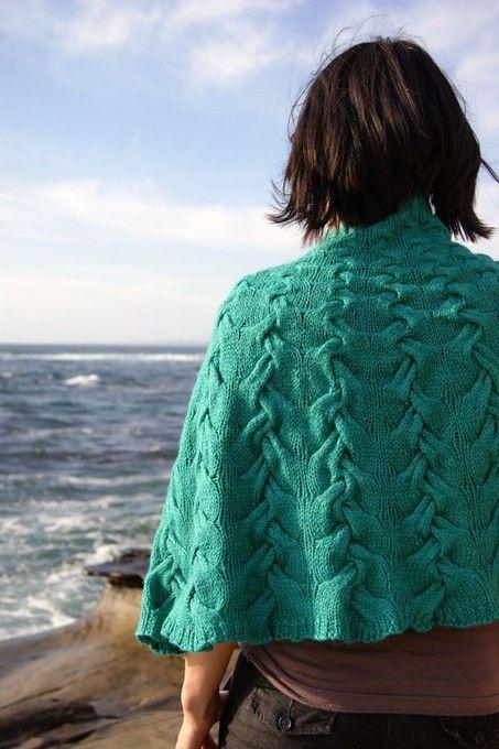 Woven shawl/cape... Add pockets?