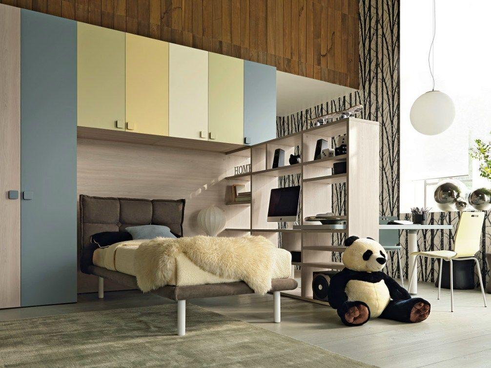 Chambre avec pont de lit CITYNEW 141 by Doimo CityLine | Lit Pont ...