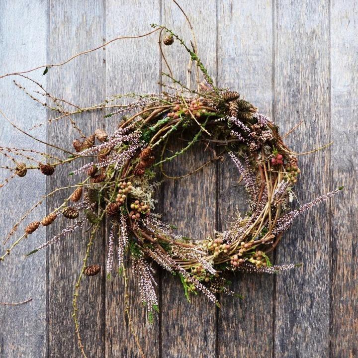 Photo of 10 minimalistic natural wreath ideas