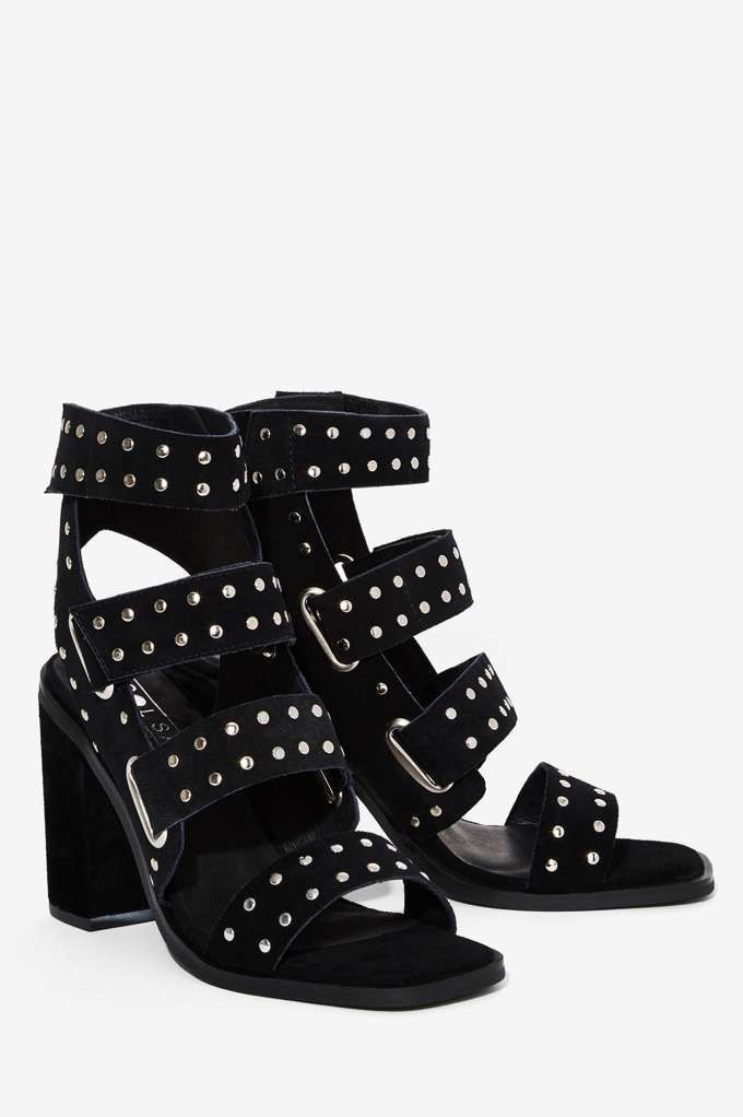 Sol Sana Lixer Suede Heel - Shoes   Heels   Sandals