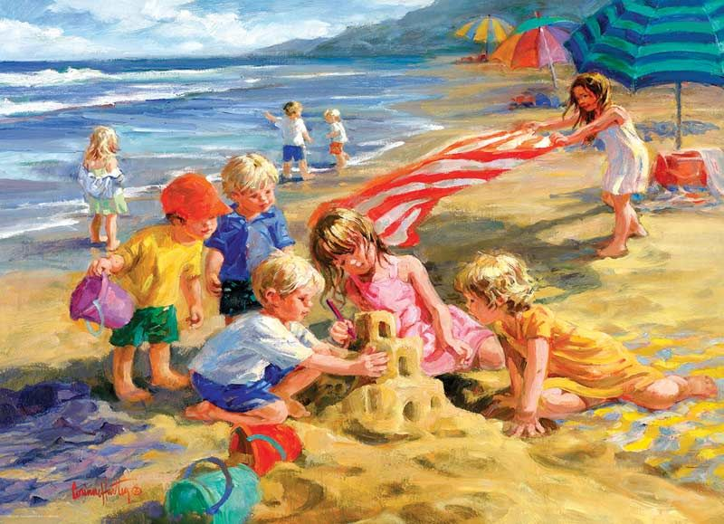 Fun In The Sun Jigsaw Puzzle Fun Jigsaw Puzzles 300 Piece Puzzles