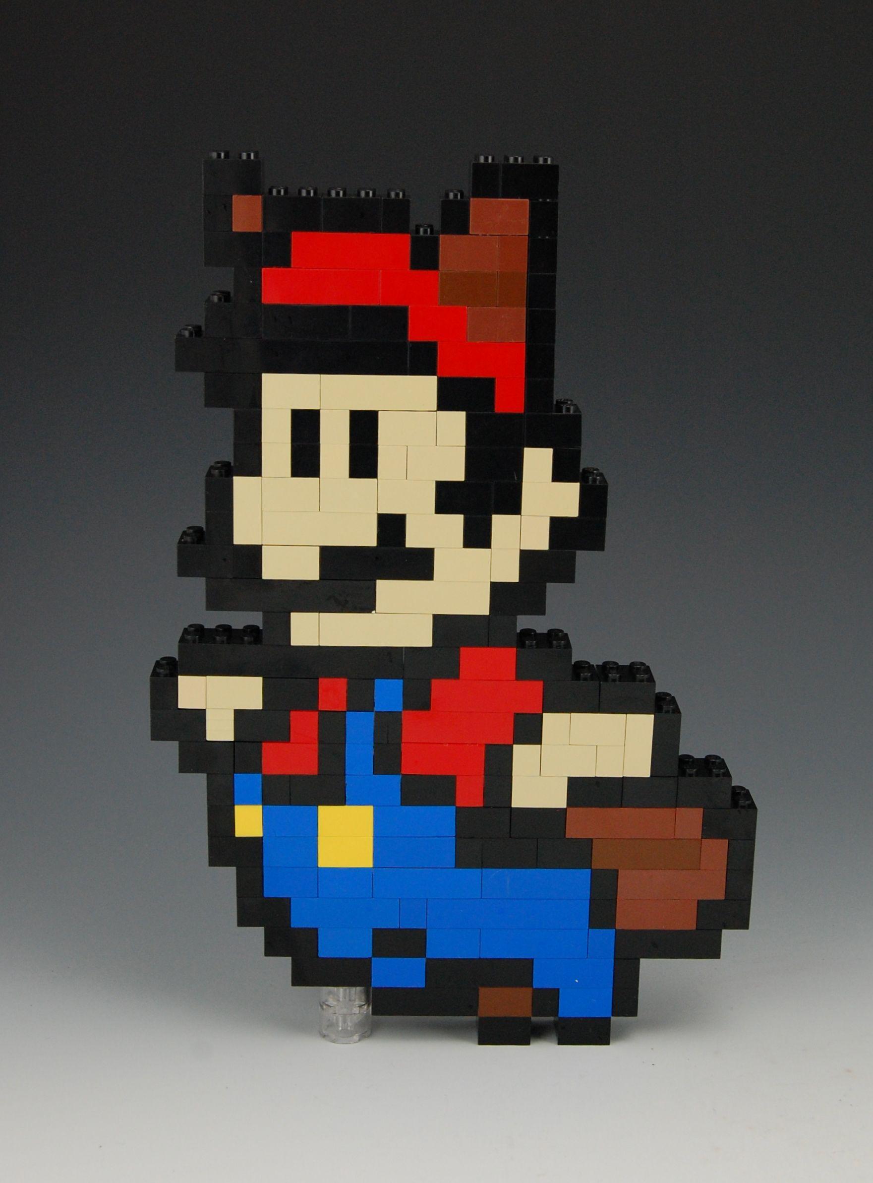 Lego Mario Raccoon Power Up By Brickbum Nintendo And