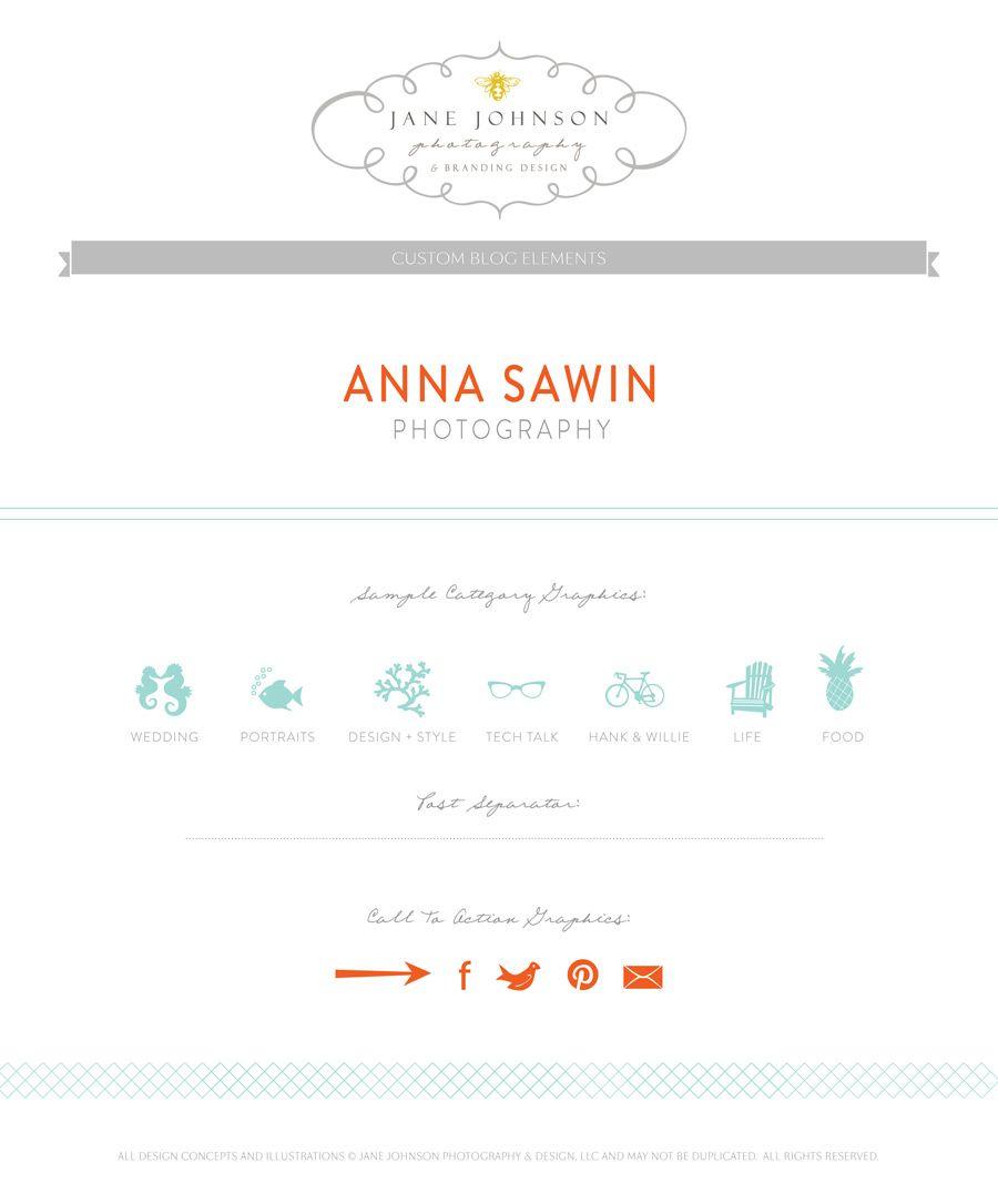 Anna-Sawin-Custom-Blog-Elements   NG   Pinterest