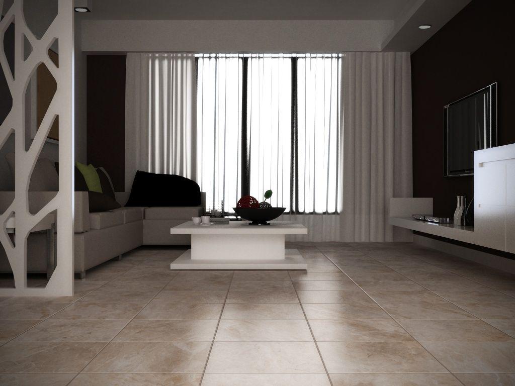 Imagen de pisos y azulejos de Salas de Estar  TV room
