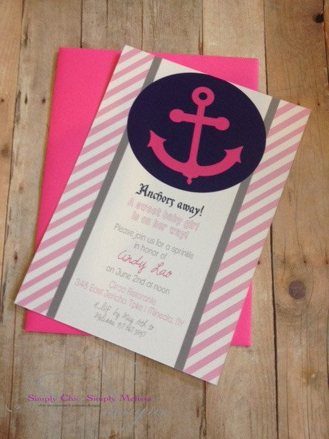 Nautical Baby Shower Invitation by SCSM on Etsy, $2000 Party - best of invitation english